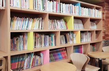 카페 및 도서 이용